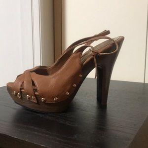 91f277fbaaf Charlotte Russe · New Charlotte Russe Wood Heels